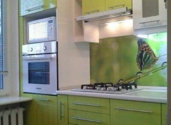 Кухня «Олива» глянец