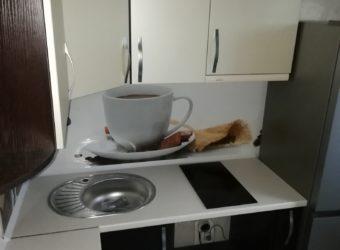 Кухня «Синга» с встроенной вытяжкой